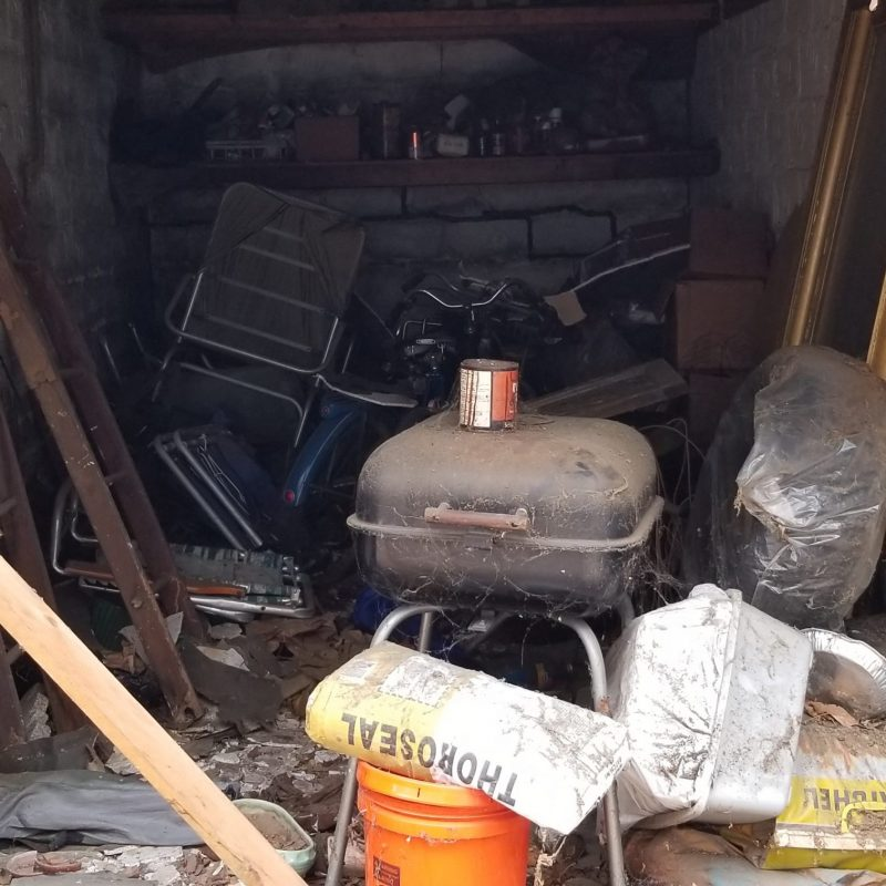 Estate Cleanout Garage