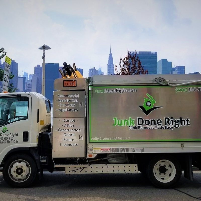 Junk Done Right New York City Truck